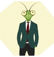 Cartoon character Mantis vector image