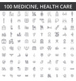 medicine doctor health care hospital modern vector image