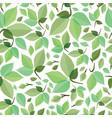Seamless green foliage vector image
