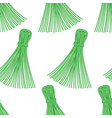 thread tassel pattern vector image