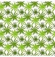 Tropical grass field seamless pattern vector image