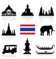 Thailand Icon vector image