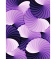 Abstract rosette purple gradients background vector image