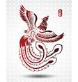 chinese phoenix2 vector image