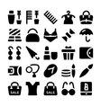 Fashion Icons 11 vector image