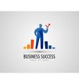 development logo design template business or vector image