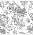 flower seamless 08 grunge vector image