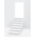 stairs door vector image