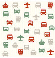 Transport seamless pattern 2 vector image vector image