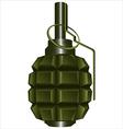 grenade00 vector image