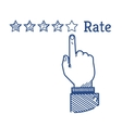 Rating vector image