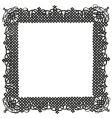 turkish ornamental frame vector image