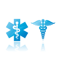 medical signs vector image