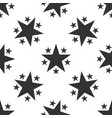 star icon seamless pattern on white background vector image