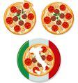 pizza Italian vector image vector image