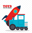 baby toys entertainment vector image