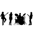 singing band vector image vector image