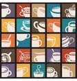 Coffee and Tea cup vector image vector image