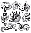 time symbols vector image