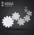 Cog wheel vector image
