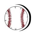 baseball sport ball vector image