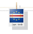 photo of cape verde flag vector image