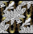seamless oriental ornament in the style of vector image