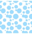 Seamless patterm with painted splash texture vector image