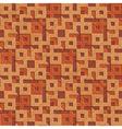 wooden textured grid vector image vector image