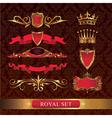 king set vector image