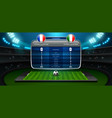 mobile football vector image