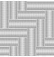 Herringbone seamless texture vector image vector image