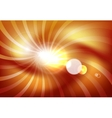 Abstract sunshine background vector image vector image