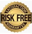 Risk Free Satifaction Guarantee vector image