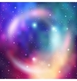 Galaxy background Abstract colorful vector image