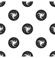 Milky way icon in black style isolated on white vector image