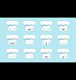 Chief cap emoji vector image