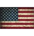 Flag of Usa - mosaic vector image