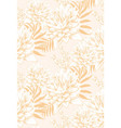 vintage tropic floral pattern vector image