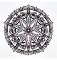 all seeing eye mandala symbol vector image