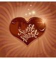 chocolate sweetheart 1 380 vector image