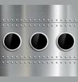 Round window Stock vector image
