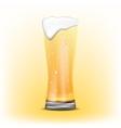 Glass of beer of beer vector image