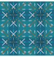 dark medieval weapons seamless pattern vector image