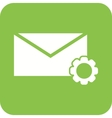 Message Settings vector image