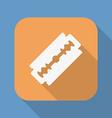 Razor blade icon symbol vector image