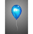 blue air balloon eps10 vector image