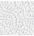 pearls seamless background vector image