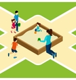 Paying On The Playground vector image
