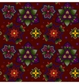Hand drawn Mandala seamless pattern from floral vector image